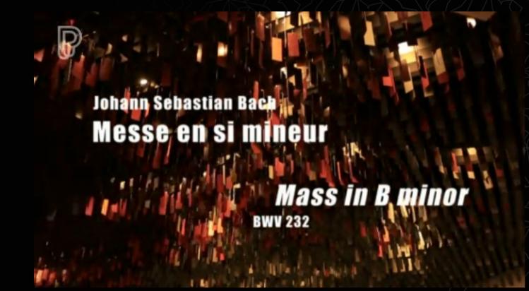 Player Live aus Paris h-Moll Messe BWV 232