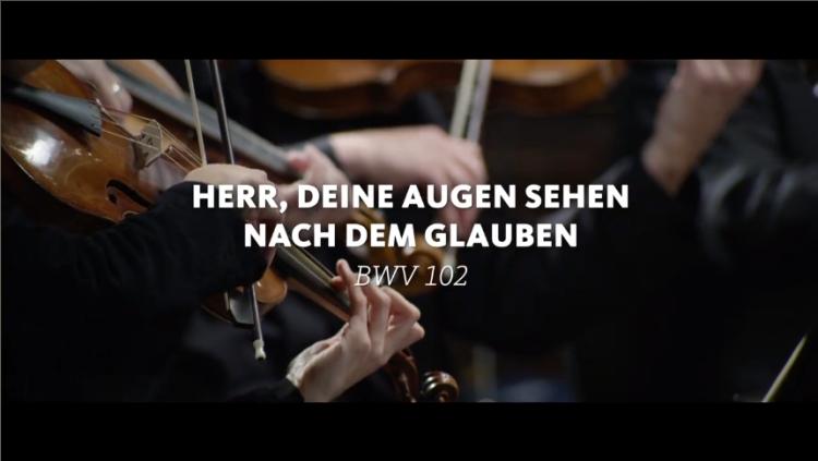 ALL OF BACH BWV 102 Herr deine Augen
