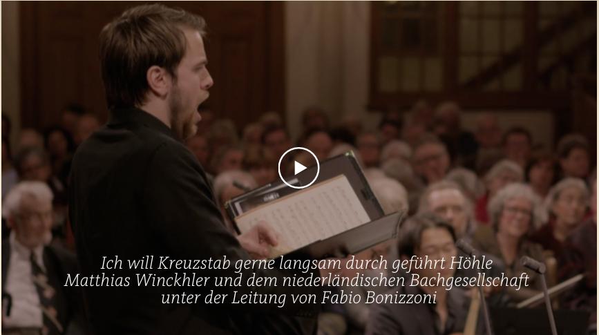 ALL OF BACH BWV 56 Ich will den Kreuzstab gern