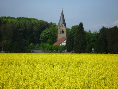 Kirche zu Bergkirchen / Lippe