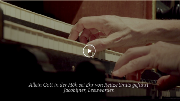 BWV 675 Orgelwerk Allein Gott in der Höh sei Ehr