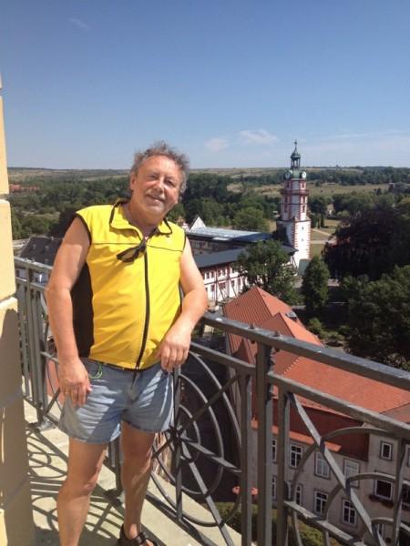 Adamo auf Turm St.Michael in Ohrdruf (Thüringen)
