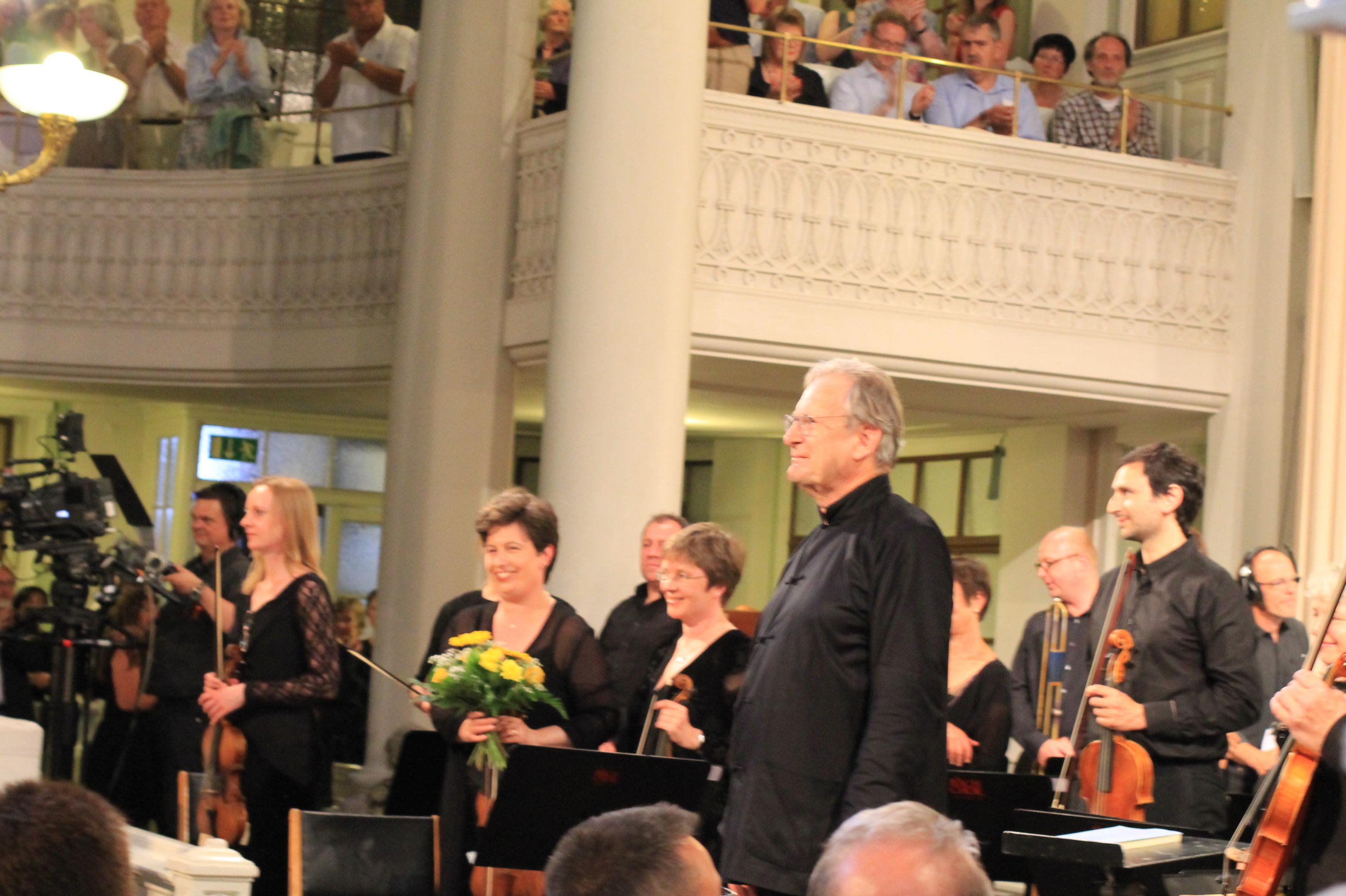 Bachfest Leipzig 2015 The Monteverdi Choir & English Baroque Soloists in der Nikolaikirche mit Sterbemusik von Bach und Mozart