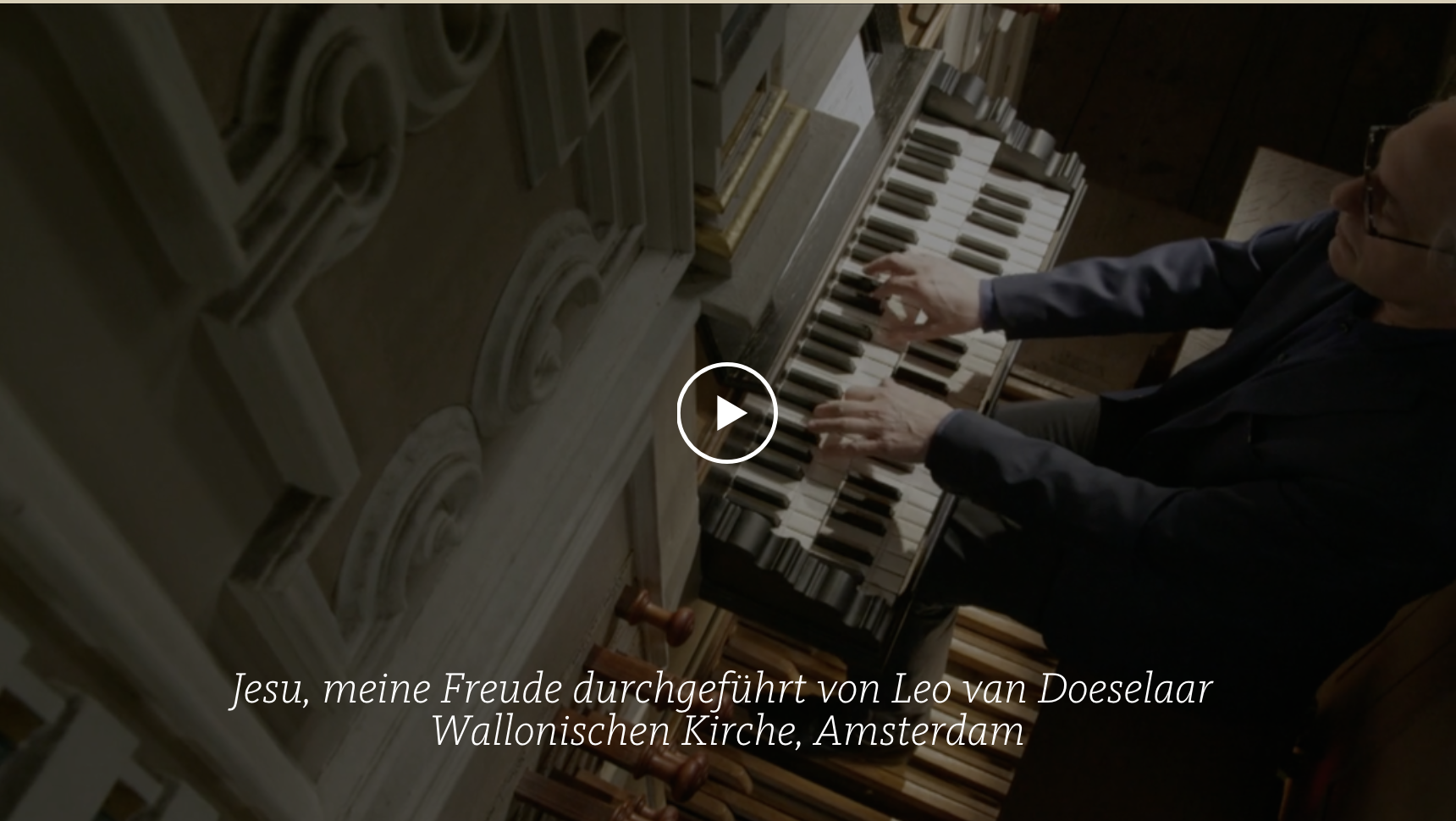 ALL OF BACH Neu BWV 1105 Jesu meine Freude