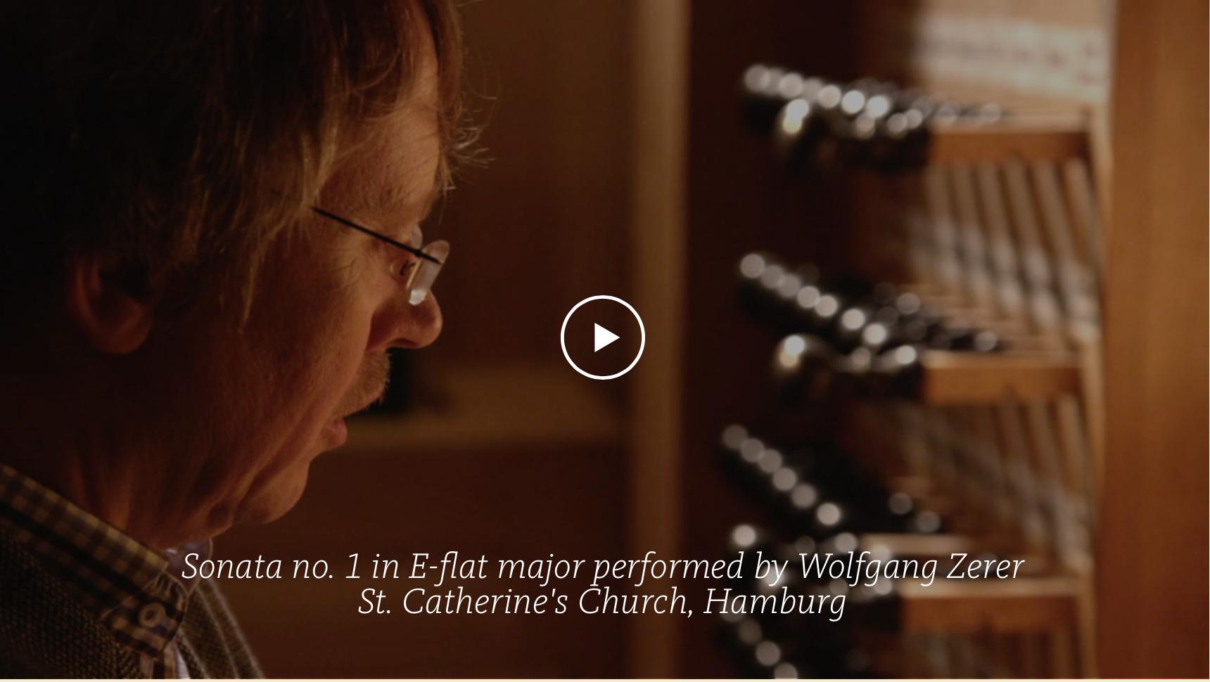 ALL OF BACH Organwork BWV 525