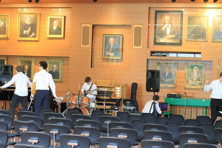 Der neue Musiksaal im Forum Thomanum, Leipzig