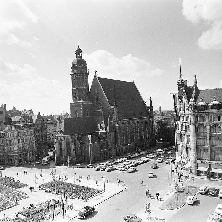 Thomaskirche Leipzig im September 1974