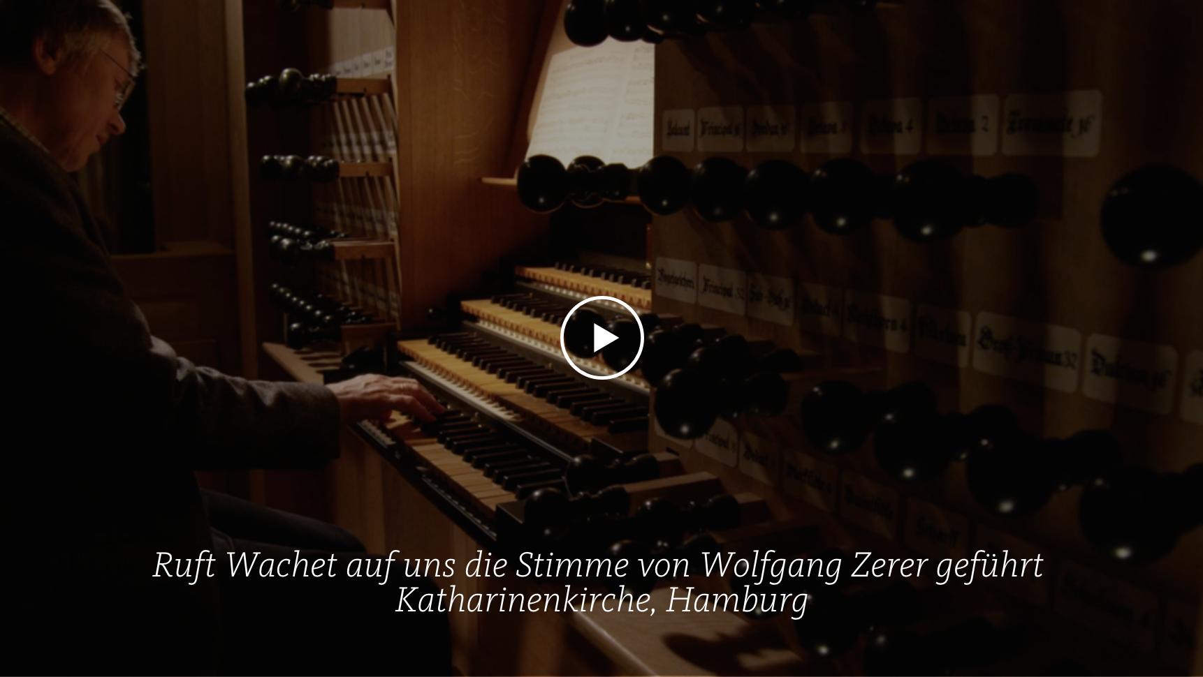 ALL OF BACH BWV 645 Wachet auf ruft uns die Stimme