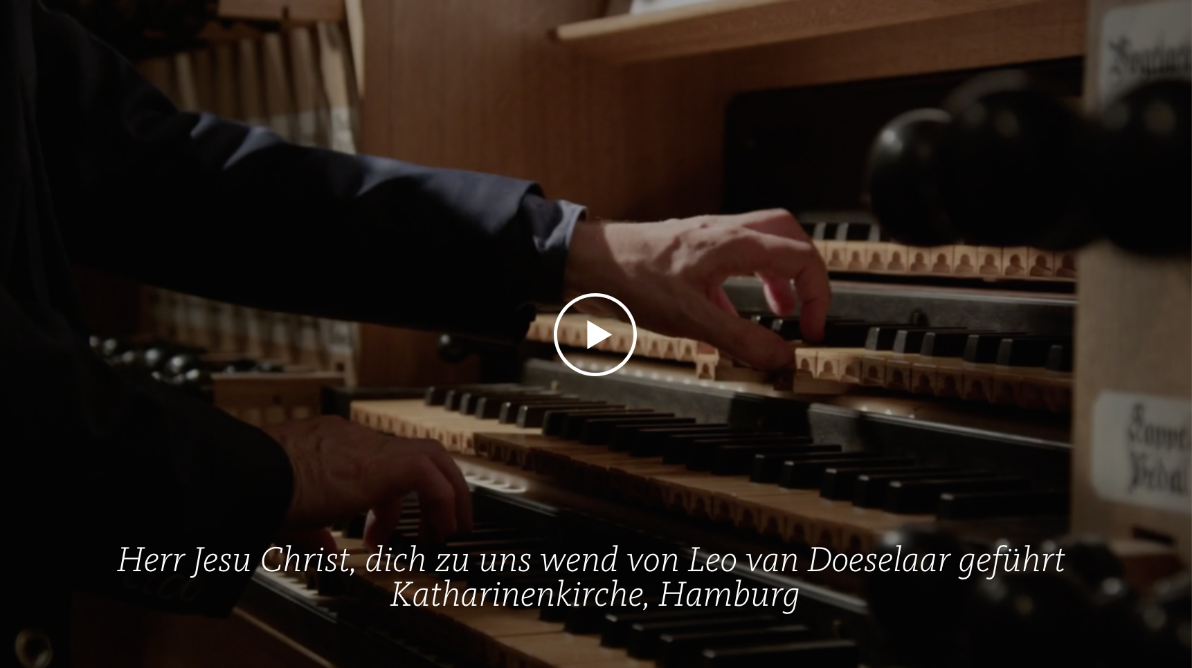 ALL OF BACH BWV 709 Herr Jesu Christ
