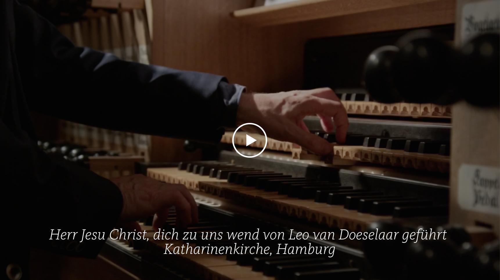 ALL OF BACH BWV 709 Herr Jesu Christ