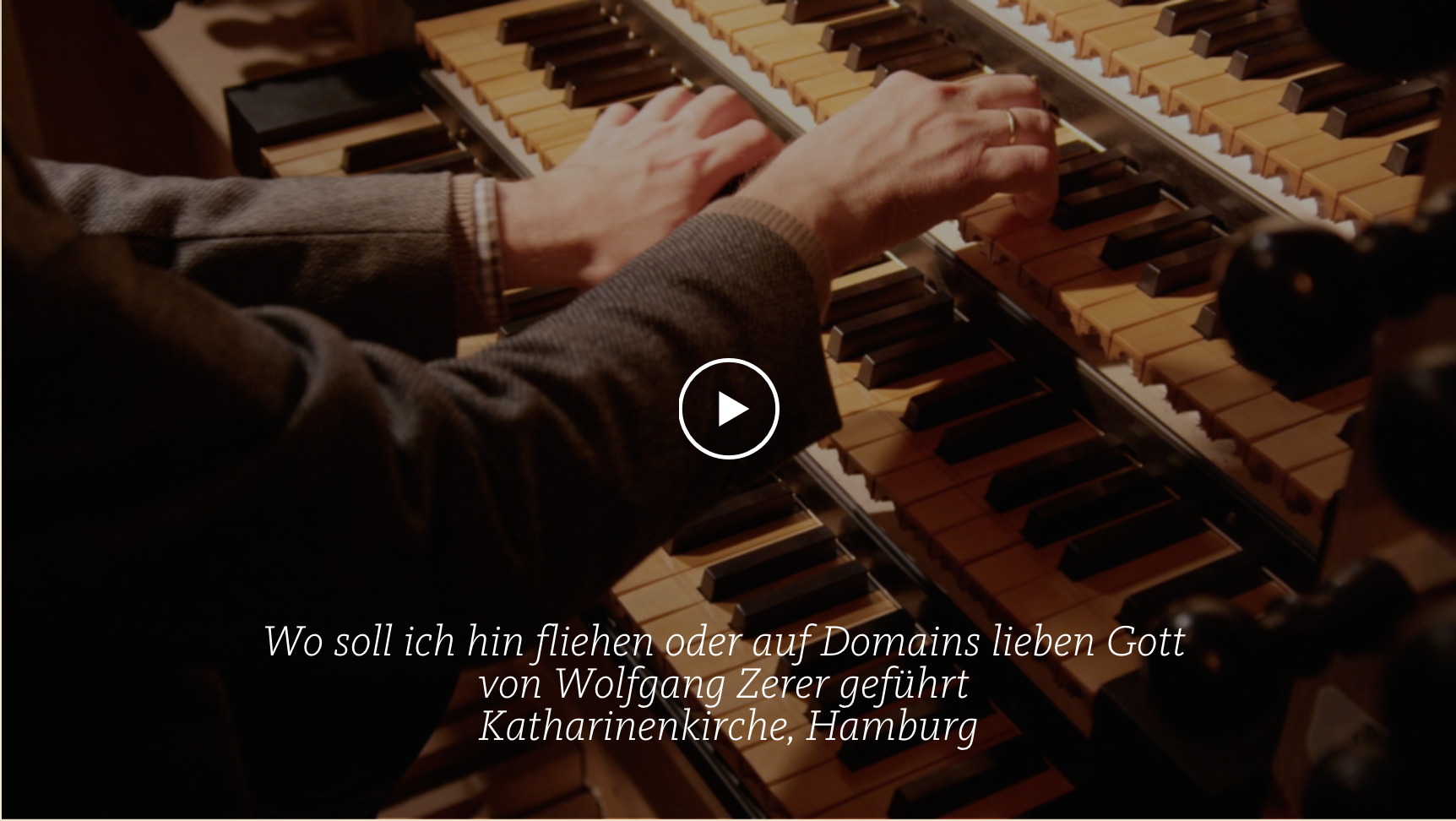 ALL OF BACH BWV 646 Wo soll ich fliehen hin