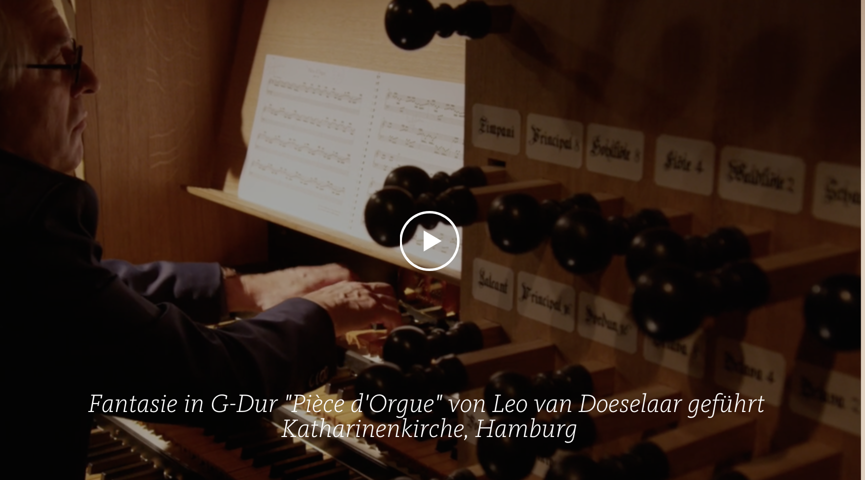 ALL OF BACH BWV 572 Fantadie in G-Dur Piece d Orgue