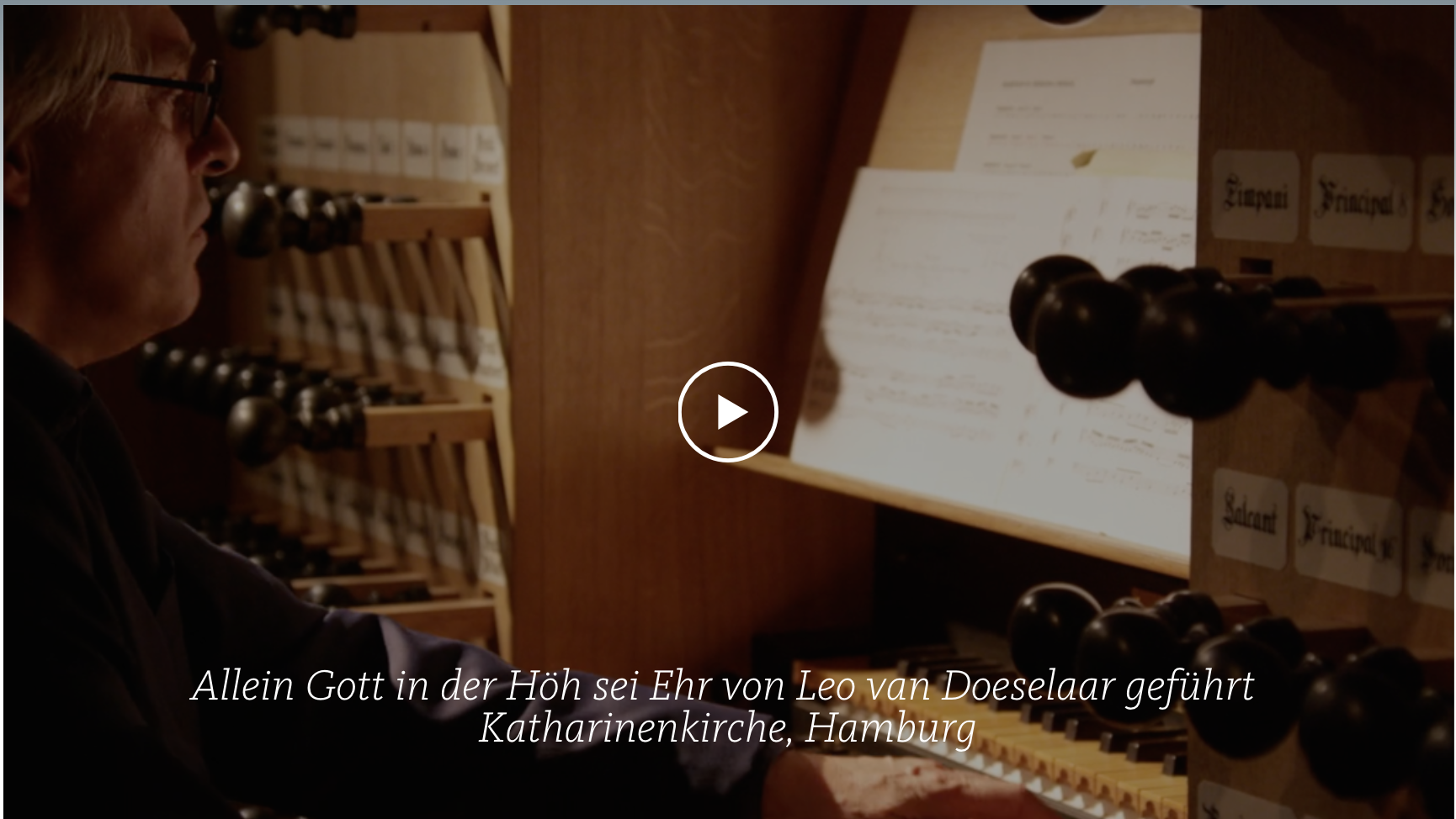ALL OF BACH BWV 676 Allein Gott in der Höh sei Ehr