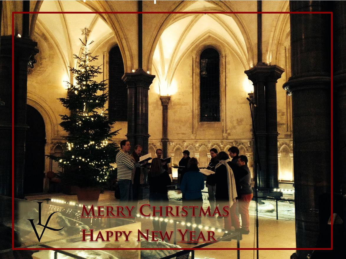 """Weihnachten in """"Temple Church"""" London"""