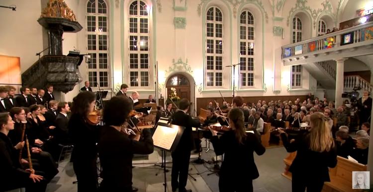 J.S. Bach Stiftung St. Gallen. Kirche und Aufführungsort der Kantaten in Trogen.