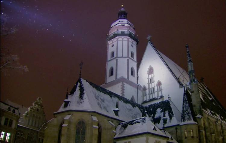 Thomaskirche im Winter