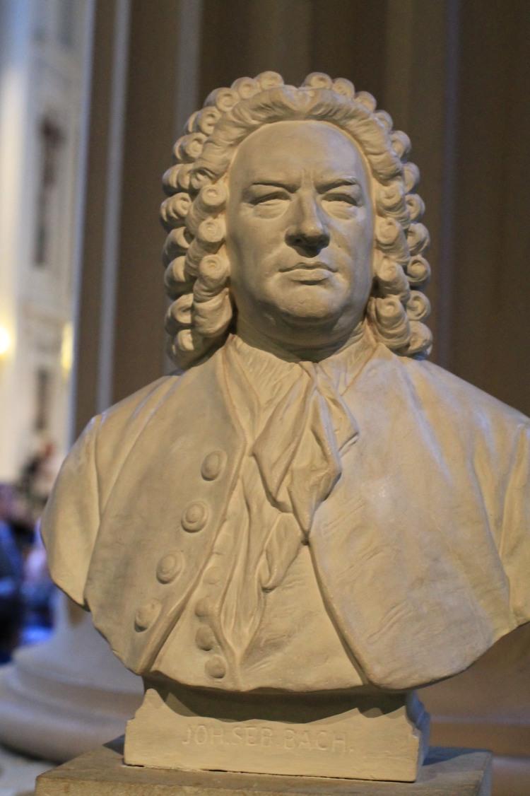 J.S. Bach-Büste im Alumnat Leipzig