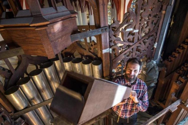 Die Sauer-Orgel in der Thomaskirche wird renoviert!