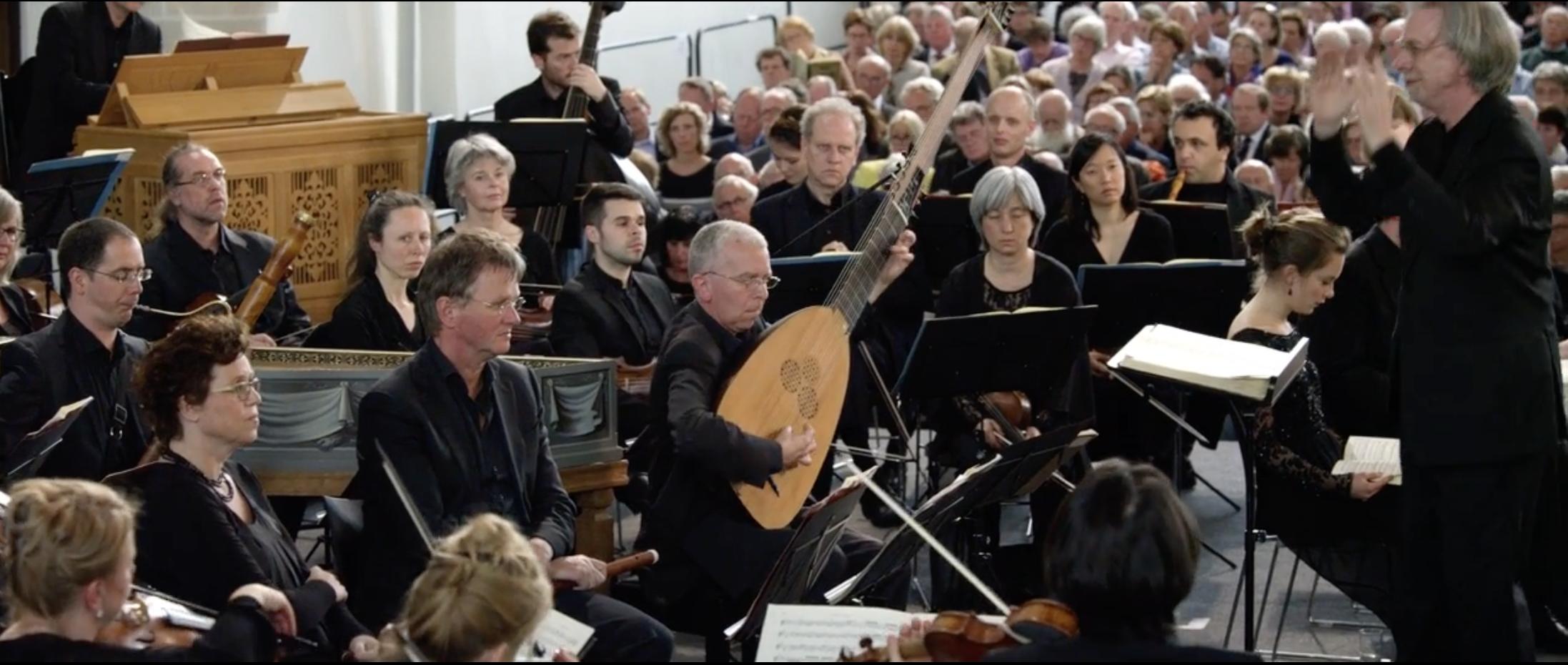 ALL OF BACH mit dem BWV 244 Matthäus Passion in der Grote Kerk, Naarden am (Holland) Aufnahme vom 16. & 19.04.2014.