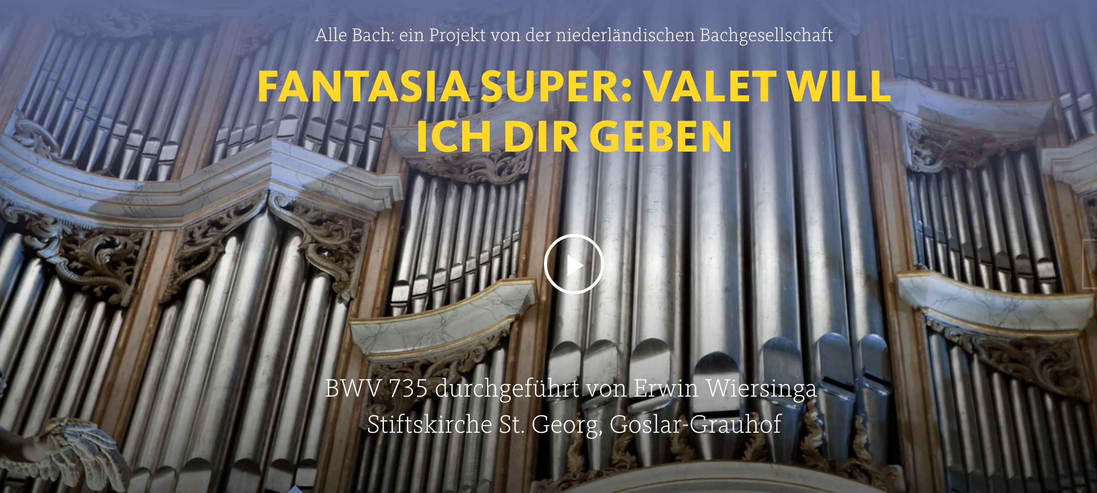 ALL OF BACH BWV 735