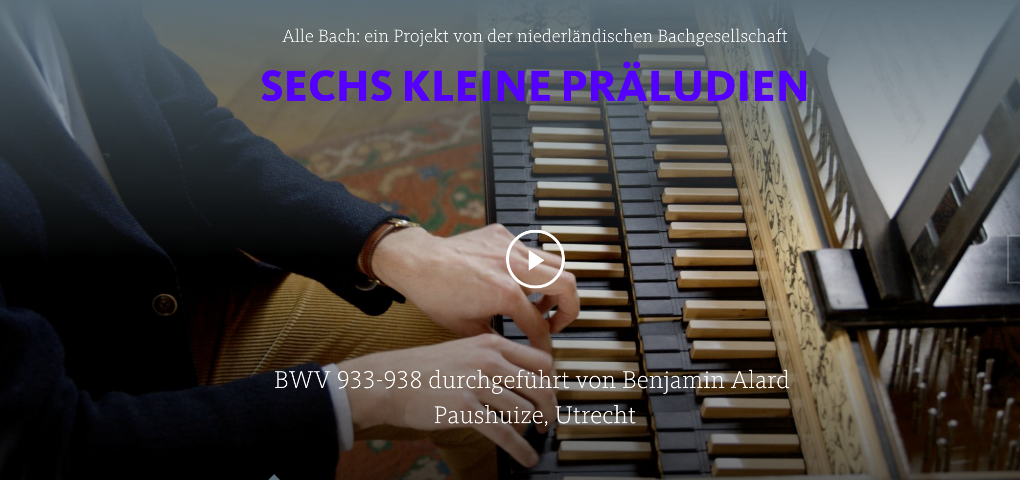 ALL OF BACH BWV 933_938