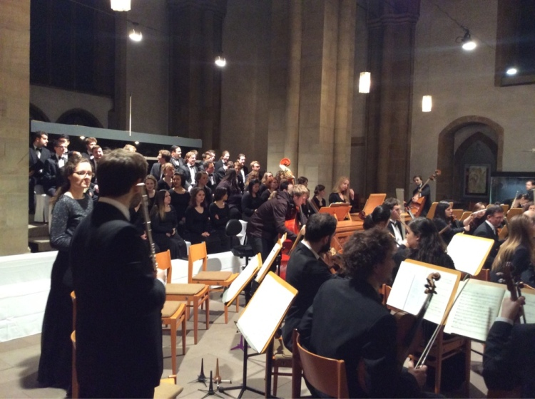 Barockorchester HfM Detmold und Minesota