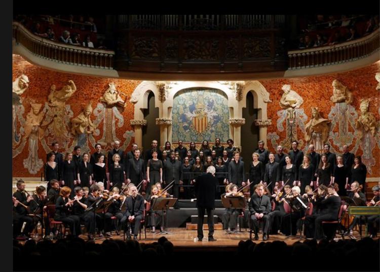 J.E. Gardiner mit dem BWV 244 am 15.3.2ß16 im Palau de la Musica Catalana Barcelona. Photos copyright: Antoni Bofill