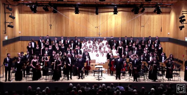 "Video: Hochschule für Musik Detmold J.S. Bach - BWV 244 ""Matthäus Passion."""