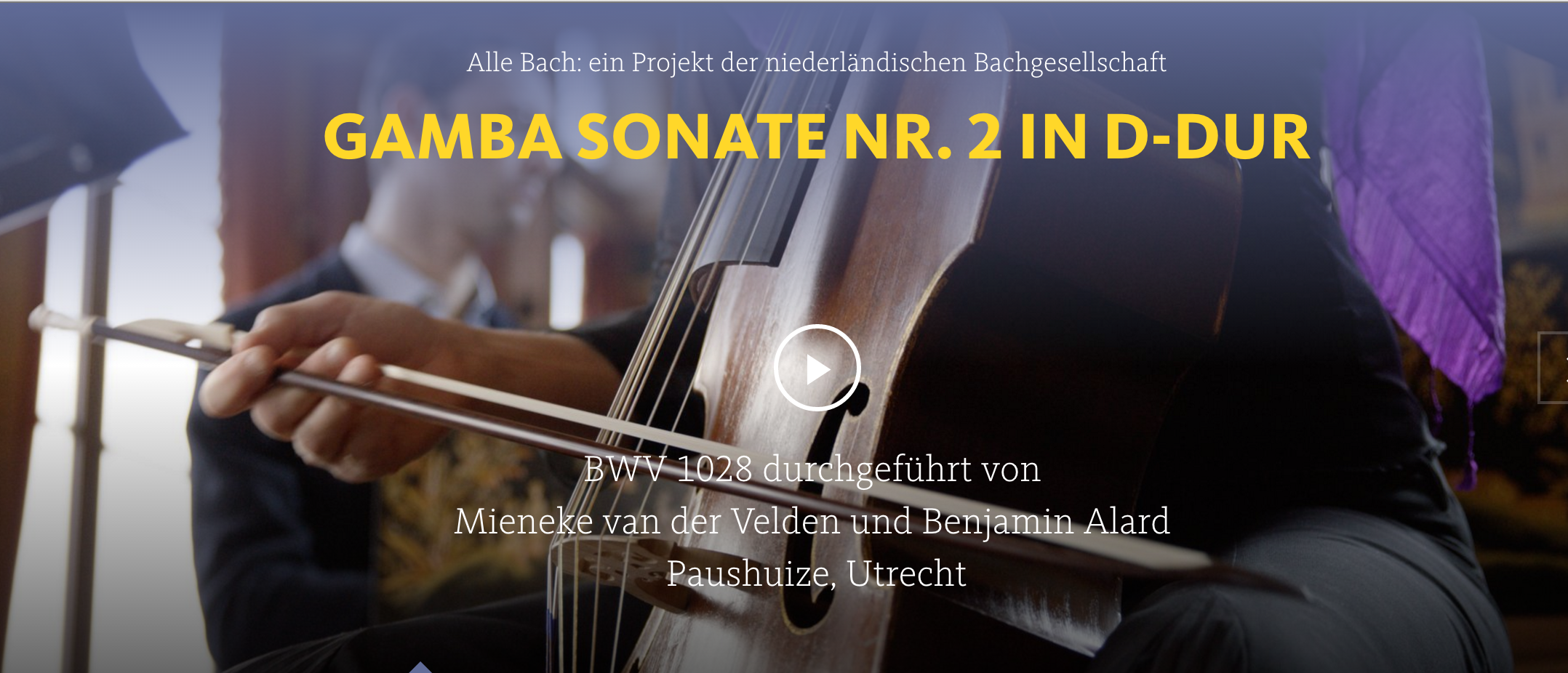 ALL OF BACH BWV 1028