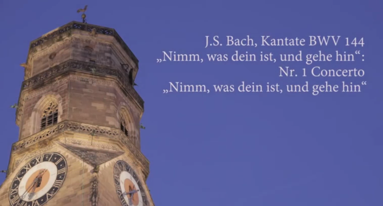 BWV 144 BACHvocal