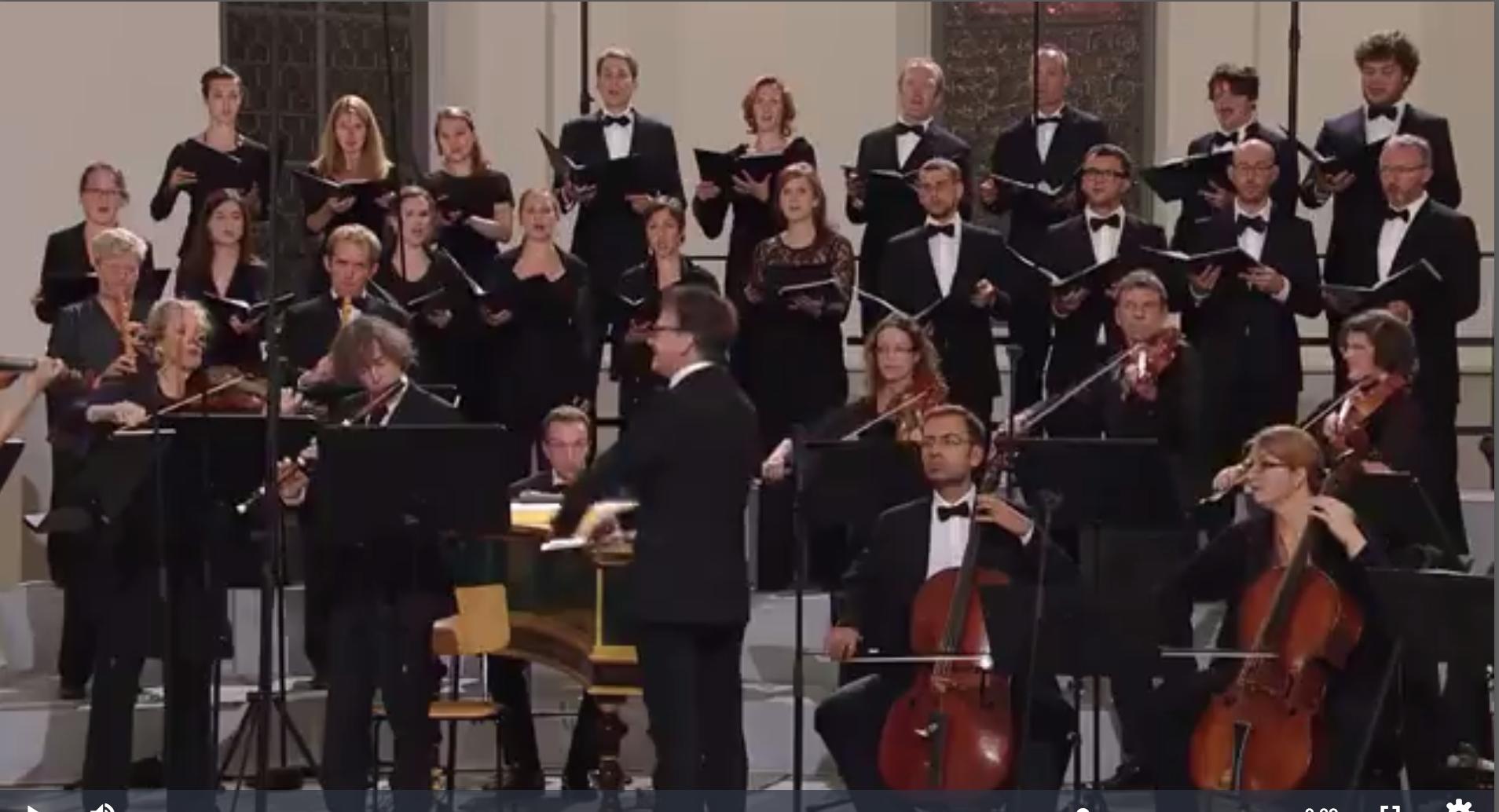 Chor und Orchester der J. S. Bach-Stiftung St. Gallen