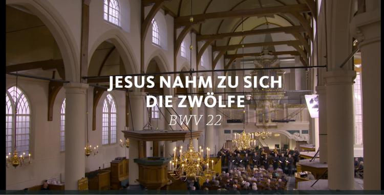 ALL OF BACH BWV 22 Jesus nahm zu sich die zwölfe