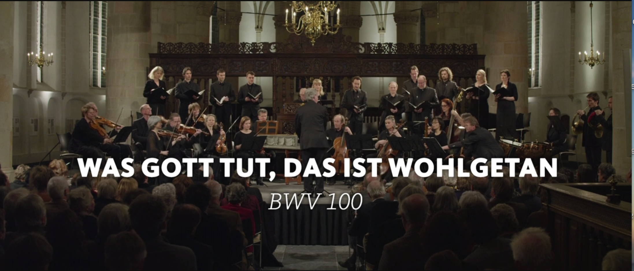 ALL OF BACH BWV 100