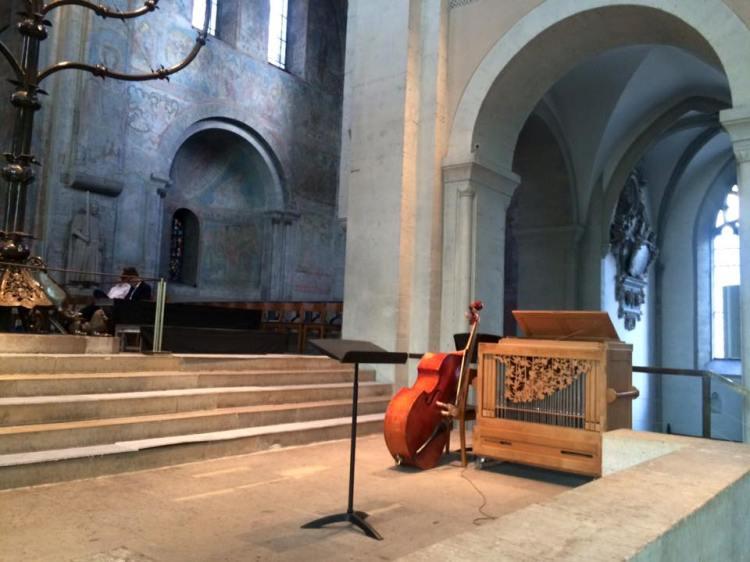 Auftrittsort des Thomanerchores: Der Braunschweiger Dom im Juli 2016