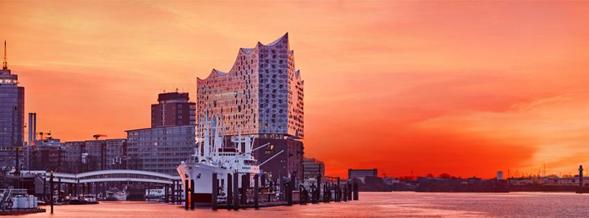 Die neue Elbphilharmonie in Hamburg. (Photorechte Maxim Schulz.)