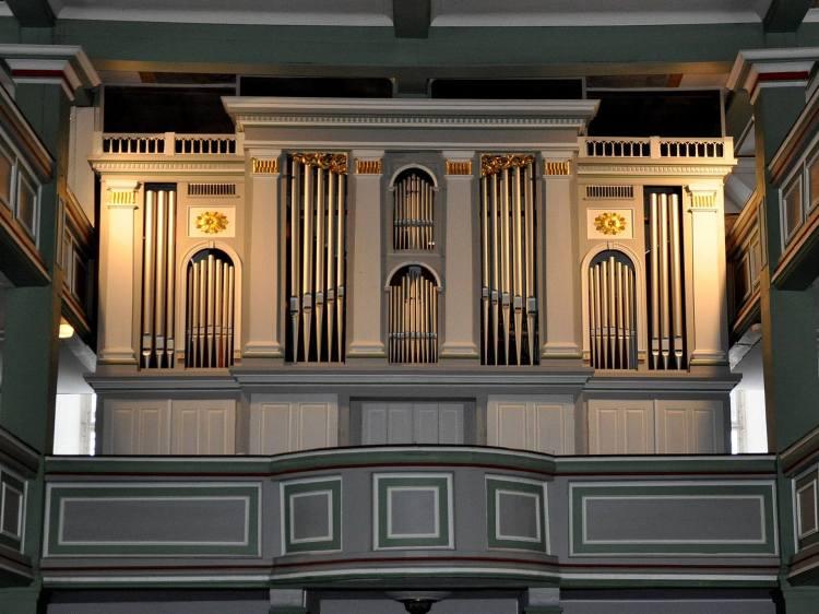 Die Orgel in St. Michaelis Ohrdruf-Thüringen