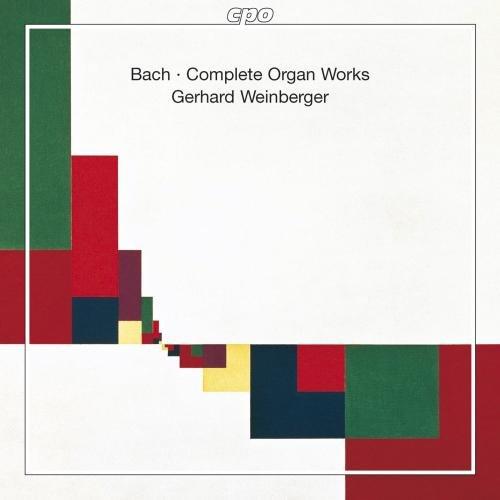 CDs Gerhard Weinberger, Gesamt-Orgelwerke von J.S. Bach
