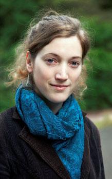Organistin Dorien Schouten