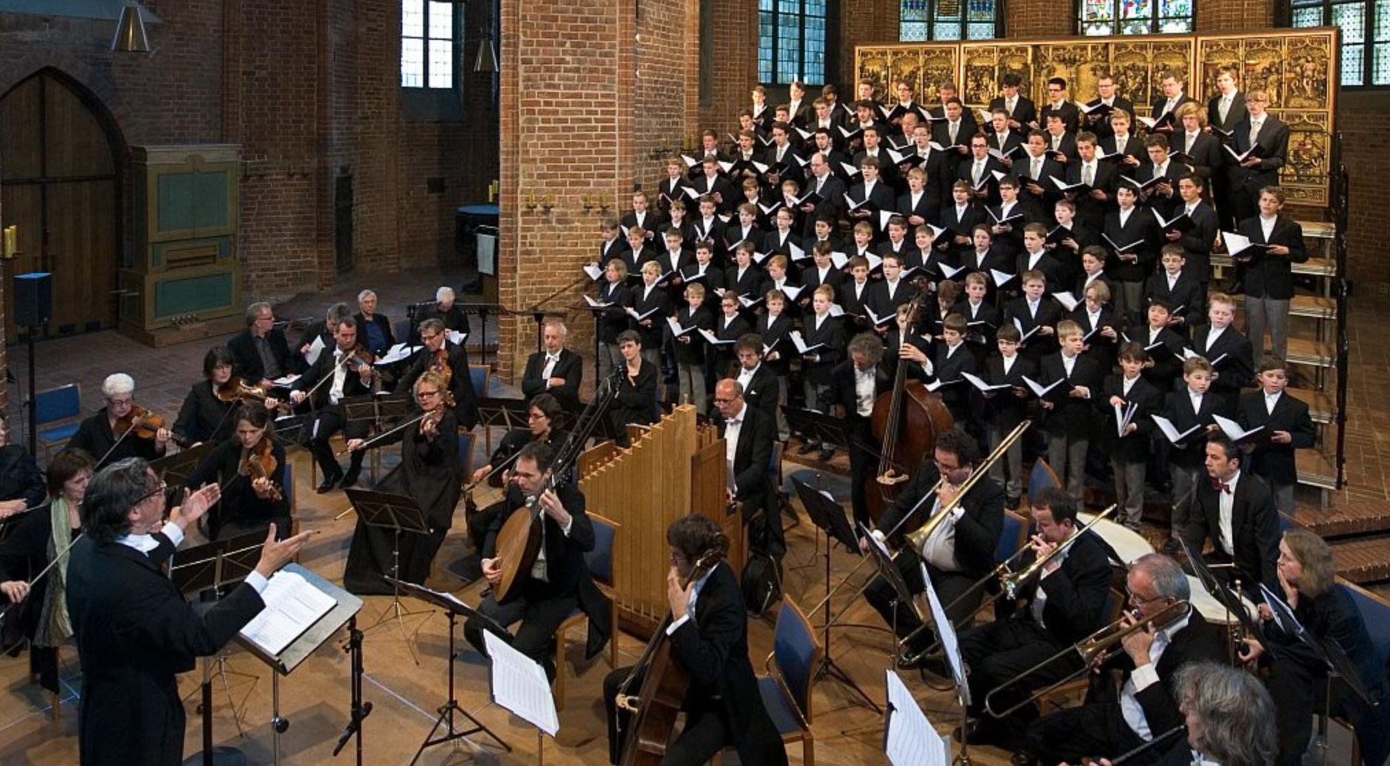 Knabenchor Hannover in der Marktkirche-Hannover mit Musica Alt Ripa. (Foto: Knabenchor Hannover)