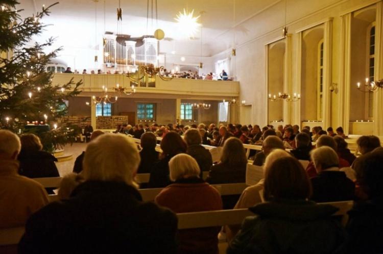 Herrnhuter Kirche der Brüdergemeine. ZDF-Fernsehgottesdienst am 2. Advent 4.12.2016 um 09:30 Uhr.