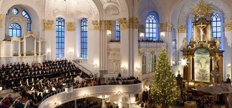 Weihnachten in St. Michael in Hamburg!