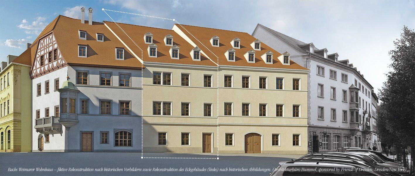 Projekt in Weimar - an Historischer Stätte eine Bach-Haus zu verwirklichen