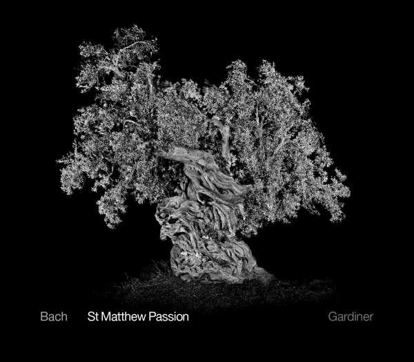 Cover: J.S. Bach Matthäus-Passion BWV 244 CD-Veröffentlichung von J.E. Gardiner (SDG)