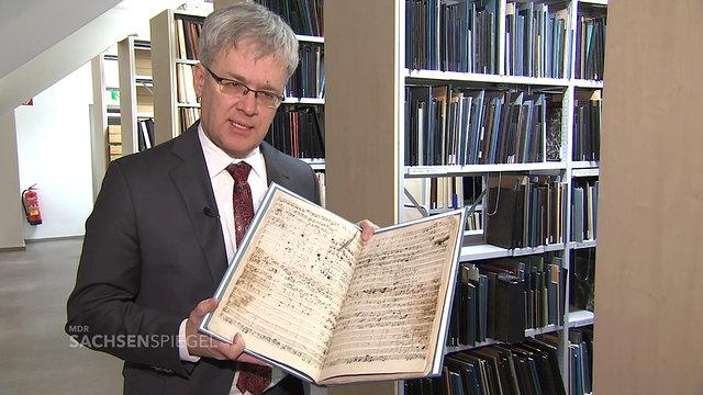 """Original-Partitur BWV 20 """"O Ewigkeit, Du Donnerwort"""""""
