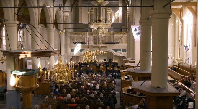 Aufführungsstätte von ALL OF BACH u.a. die Waalse Kerk zu Amsterdam.