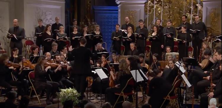 J.S. Bach BWV 244 Matthäus Passion, Raphael Pichon, Recording from 26. März 2016 Chapelle royale du Château de Versailles.