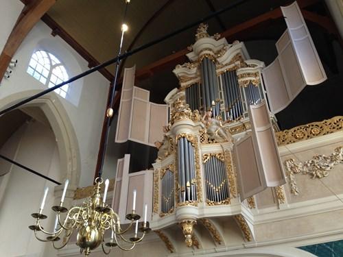 Christian Müller-Orgel von 1722 in der Waalse Kerk zu Amsterdam