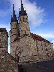 Foto-Impressionen aus Mühlhausen (Thüringen) vom 15.12.2017