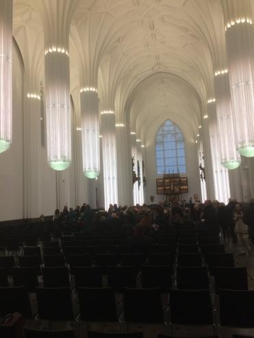 Fotos aus der Uni-Kirche Paulinum, Leipzig vom 17.12.2017.